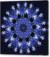 Days Will Pass Mandala Canvas Print