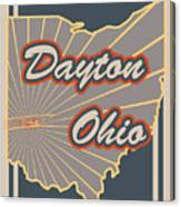 Dayton Ohio Canvas Print