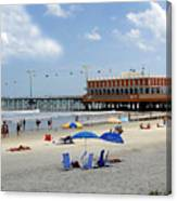 Daytona Beach Pier Canvas Print