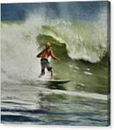 Daytona Beach Surfing Day Canvas Print