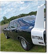 Daytona Charger Canvas Print