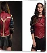 Dc Comics Wonder Woman Jacket Canvas Print