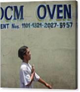 Dcm Oven 2 Canvas Print