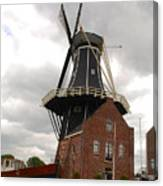 De Adriann Windmill - Haarlem The Netherlands Canvas Print