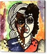 De Femme Canvas Print