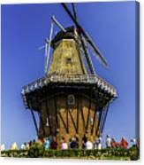 De Zwaan Windmill In Holland Canvas Print
