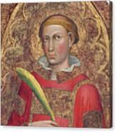 Deacon Saint, With Saint Anthony Abbot Canvas Print