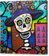 Dead And The City Canvas Print