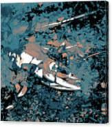 Dead Salmon 3 Canvas Print