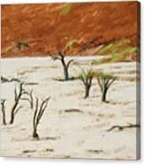 Dead Vlei Namibia Canvas Print