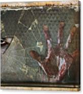 Dead Window Canvas Print