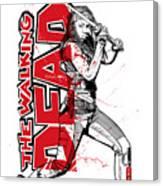 Deadly Michonne Canvas Print