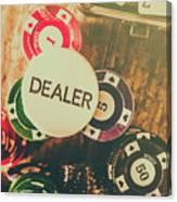 Dealers House Edge Canvas Print