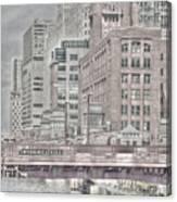 Dearborn Street Bridge Canvas Print
