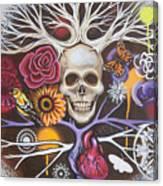 Death Becomes Me Canvas Print