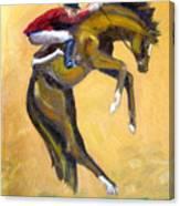 Death Defying Ride Canvas Print