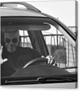 Death Driver Canvas Print