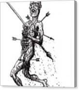 Death March Canvas Print