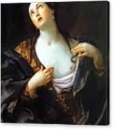 Death Of Cleopatra 1598 Canvas Print