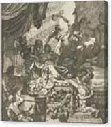 Death Of Dido, Gerard De Lairesse, 1668 Canvas Print