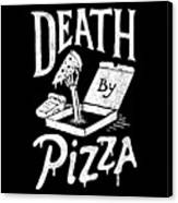 Death Pizza Canvas Print