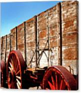 Death Valley Borax Wagons Canvas Print