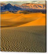 Death Valley Golden Hour Canvas Print