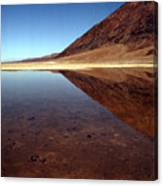Death Valley Lake Canvas Print