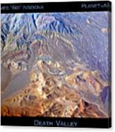 Death Valley Planet Earth Canvas Print