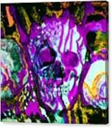 Deathstudy-1 Canvas Print