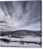 Deatnu Valley Scenery Canvas Print
