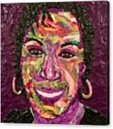 Deb A Self Portrait Canvas Print