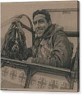 Debden Eagle Canvas Print