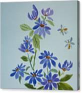 Deb's Daisies Canvas Print