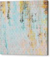 Decadent Urban Light Colored Patterned Abstract Design Canvas Print