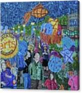 Decatur Lantern Parade Canvas Print