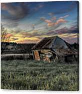 Decaying Cottage Canvas Print