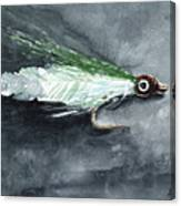 Deceiver Fishing Fly Canvas Print