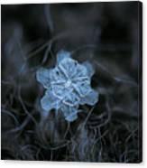 December 18 2015 - Snowflake 2 Canvas Print