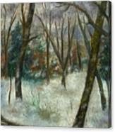 December On Cooper Hill Canvas Print
