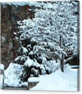 December Snows Canvas Print