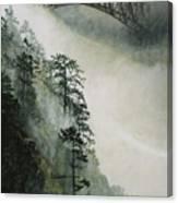 Deception Pass Fog Canvas Print