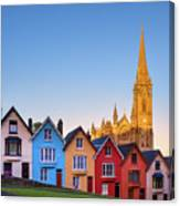 Deck Of Cards And St Colman's Cathedral, Cobh, Ireland Canvas Print