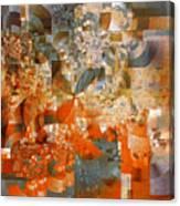 Deco Bubbles Canvas Print