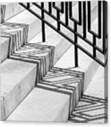 Deco Shadow Canvas Print