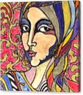 Decoface 3 Canvas Print