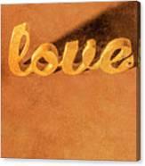 Decorating Love Canvas Print