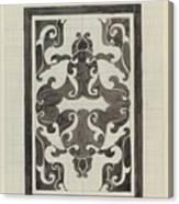 Decorative Design, Carel Adolph Lion Cachet, 1874 - 1945 Jd Canvas Print