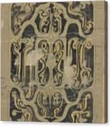 Decorative Design, Carel Adolph Lion Cachet, 1874 - 1945 Vq Canvas Print