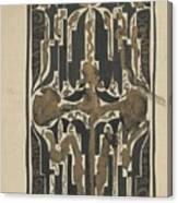 Decorative Design, Carel Adolph Lion Cachet, 1874 - 1945 Y Canvas Print